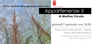 Mostra APPARTENENZE II